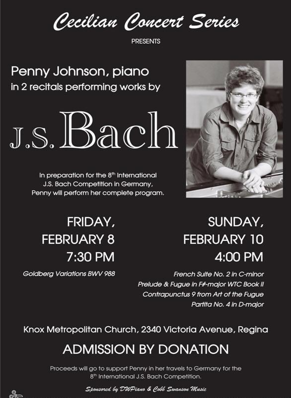 Upcoming Piano Concert!
